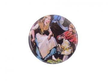 Taschenspiegel Aschenputtel mit Prinz